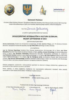 Wydział Ekonomii i Zarządzania PO, Biuro Rozwoju Społeczeństwa Informacyjnego UMWO