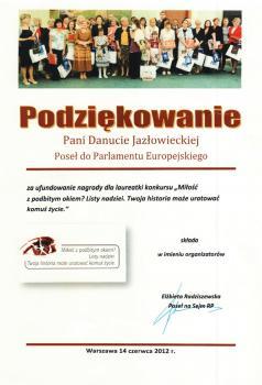 Poseł na Sejm - Elżbieta Radziszewska